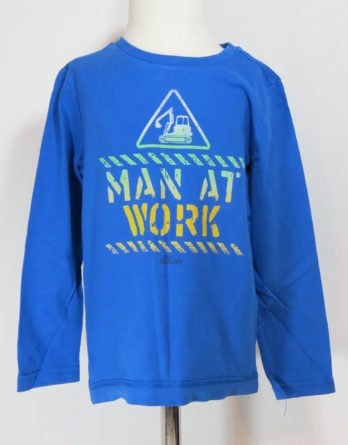 "Langarmshirt ""Man at Work"""