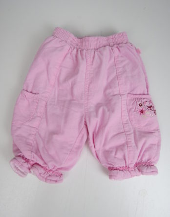 Warme Babycordhose