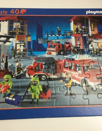 "Puzzle 40 Teile ""Playmobil"""
